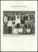 1981 Mill River Union High School Yearbook Page 108 & 109