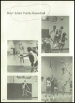 1981 Mill River Union High School Yearbook Page 134 & 135
