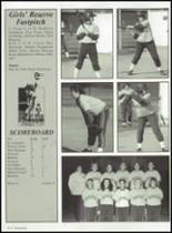 2001 Russia Local High School Yearbook Page 156 & 157