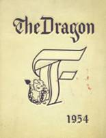 1954 Yearbook Fairmont High School (thru 1964)