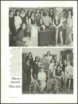 1974 Archbishop Carroll High School Yearbook Page 110 & 111