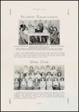 1950 Jackson High School Yearbook Page 20 & 21