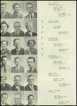 1951 Bloomington High School Yearbook Page 16 & 17