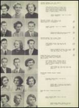 1951 Bloomington High School Yearbook Page 22 & 23
