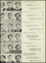 1951 Bloomington High School Yearbook Page 28 & 29