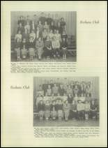 1951 Bloomington High School Yearbook Page 50 & 51