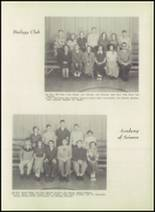 1951 Bloomington High School Yearbook Page 56 & 57