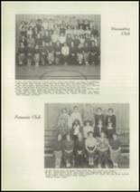 1951 Bloomington High School Yearbook Page 68 & 69