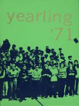 1971 Yearbook Pendleton High School