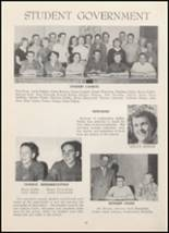 1954 North Cache High School Yearbook Page 16 & 17