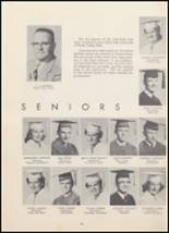 1954 North Cache High School Yearbook Page 28 & 29