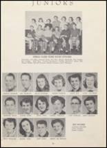 1954 North Cache High School Yearbook Page 42 & 43