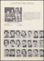 1954 North Cache High School Yearbook Page 44 & 45