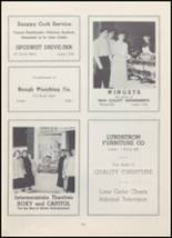 1954 North Cache High School Yearbook Page 104 & 105