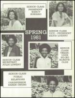 1981 Los Angeles High School Yearbook Page 40 & 41
