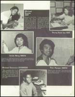 1981 Los Angeles High School Yearbook Page 50 & 51