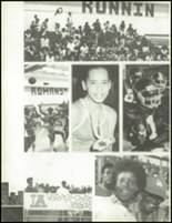 1981 Los Angeles High School Yearbook Page 68 & 69