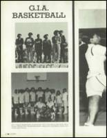 1981 Los Angeles High School Yearbook Page 84 & 85