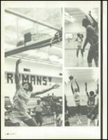 1981 Los Angeles High School Yearbook Page 86 & 87