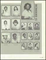 1981 Los Angeles High School Yearbook Page 154 & 155