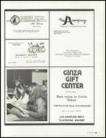 1981 Los Angeles High School Yearbook Page 216 & 217