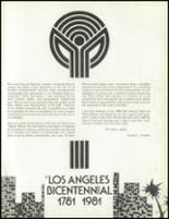 1981 Los Angeles High School Yearbook Page 226 & 227
