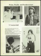 1977 Eula High School Yearbook Page 30 & 31