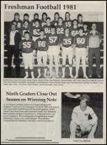 1982 Chelsea High School Yearbook Page 52 & 53