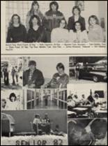 1982 Chelsea High School Yearbook Page 80 & 81