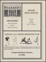 1982 Chelsea High School Yearbook Page 100 & 101