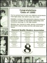 1990 Concord High School Yearbook Page 200 & 201