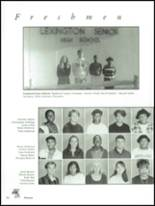 1995 Lexington High School Yearbook Page 38 & 39