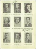 1950 Waverly High School Yearbook Page 12 & 13