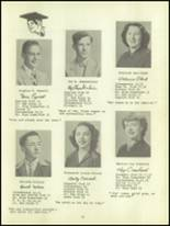 1950 Waverly High School Yearbook Page 18 & 19