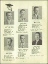 1950 Waverly High School Yearbook Page 20 & 21
