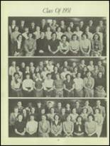 1950 Waverly High School Yearbook Page 40 & 41