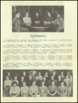 1950 Waverly High School Yearbook Page 42 & 43