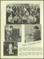 1950 Waverly High School Yearbook Page 62 & 63
