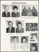 1989 Bradford High School Yearbook Page 20 & 21