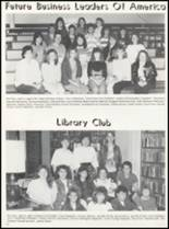 1989 Bradford High School Yearbook Page 54 & 55