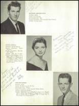 1958 Kings Park Central School Yearbook Page 16 & 17
