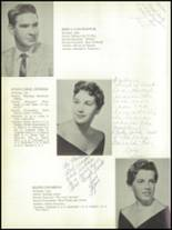 1958 Kings Park Central School Yearbook Page 20 & 21