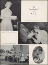1959 Churchill County High School Yearbook Page 12 & 13