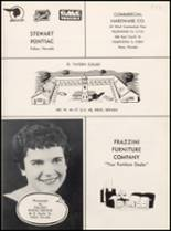 1959 Churchill County High School Yearbook Page 138 & 139