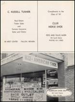 1959 Churchill County High School Yearbook Page 154 & 155