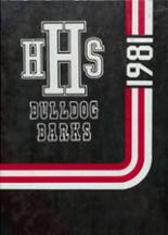 1981 Yearbook Hitchcock High School