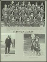 1980 South Gate High School Yearbook Page 130 & 131