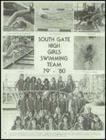 1980 South Gate High School Yearbook Page 164 & 165