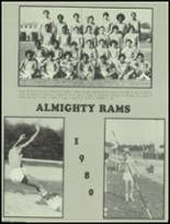 1980 South Gate High School Yearbook Page 166 & 167