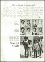1983 Rolling Fork High School Yearbook Page 56 & 57